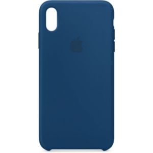 Apple Coque iPhone XS Max silicone Bleu horizon