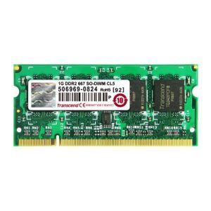 Transcend JM667QSU-1G - Barrette mémoire JetRAM 1 Go DDR2 667 MHz CL5 200 broches