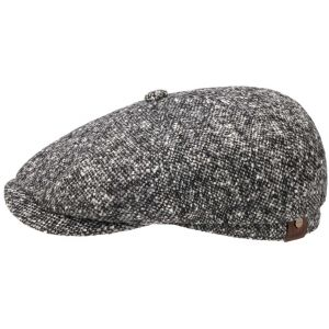 Stetson Hatteras Virgin Wool Casquette Gavroche noir 59 cm