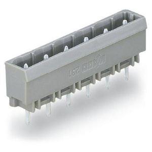 Wago 231-264/001 - Embase 4 pôles gris pas 7,5 mm enfichage vertical au circuit imprimé emballage industriel de 100 pc(s)