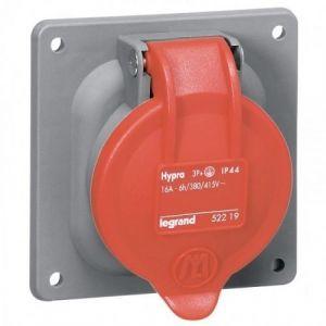 Legrand SOCLE TABLEAU PLASTIQUE HYPRA - IP44 - 32 A - 380/415 V~ - 3P+N+T -