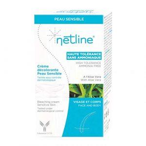Laboratoires Bioes Netline - Crème décolorante peau sensible visage et corps