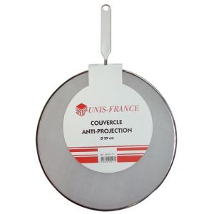 Brio (SIF UNIS France) 517 - Couvercle anti-projection en inox 29 cm
