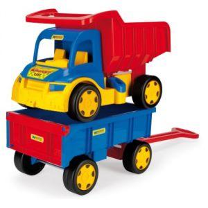 Wader Camion benne et voiture à bras