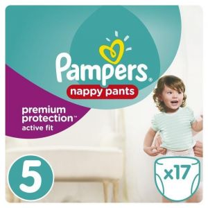 Pampers Premium Active Fit Pants taille 5 (11-18 kg) - 17 couches-culottes