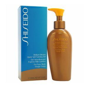 Image de Shiseido Gel auto-bronzant express hâle lumière visage / corps