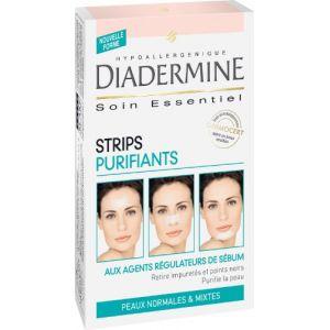 Diadermine Strips Purifiants peaux normales & mixtes - 6 unités