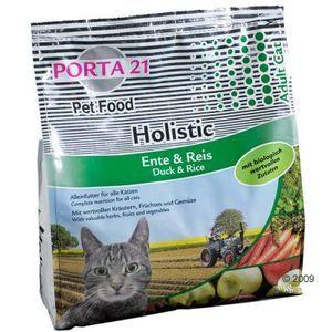 Feline Porta 21 Holistique - Croquettes canard et riz pour chat - 10 Kg