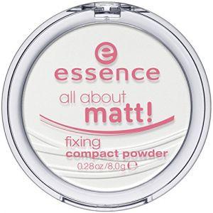 Essence Teint Poudre et rouge à lèvres All About Matt! Fixing Compact Powder 8 g