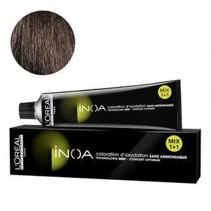 L'Oréal Inoa N°4.35 Chatain Doré Acajou 60 Grs