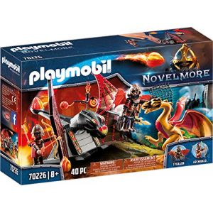 Playmobil 70226 - Burnham Raiders et dragon doré Novelmore