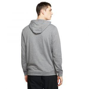 Nike Sweat a capuche dri fit training gris homme s