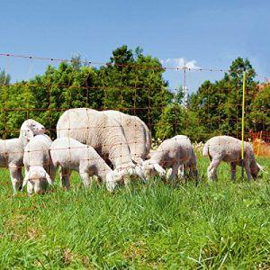 Kerbl Ovinet Filet Pro Simple Pointe avec Talonnette pour Élevage Mouton 90 cm