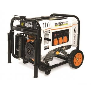 Mecafer Groupe Electrogène 4200W maxi 4 temps 10HP max 308cc - MF4800 HD
