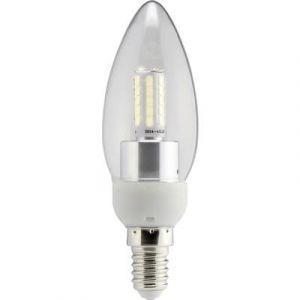 Sygonix Ampoule LED E14 9283c87a en forme de bougie 4 W = 40 W blanc chaud (Ø x L) 35 mm x 112 mm EEC: A+ 1 pc(s)