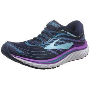 Brooks Glycerin 15, Chaussures de Running Femme, Bleu (Eveningbluepurplecactusflower 1b465), 37.5 EU