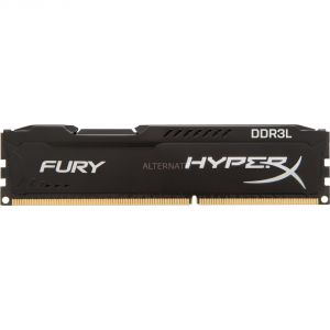 Kingston HX316LC10FB/8 - Barrette mémoire HyperX Fury 8 Go DDR3L 1600MHz Kit