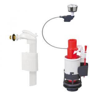 Wirquin Mécanisme économiseur d'eau à double bouton poussoir