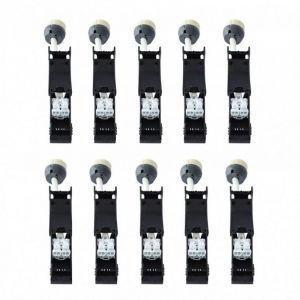 Vision-El LOT 10 x Douille GU10 Céramique Automatique 230V CL2 pour Spot Led Culot