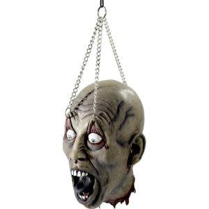 Decoration Halloween : tête d'homme décapitée