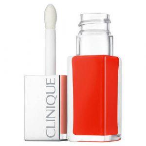 Clinique Pop Lacquer 03 Happy Pop - Rouge laque + base
