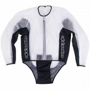 Alpinestars Veste imperméable Racing Rain transparent/noir - S