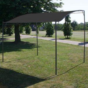 VidaXL Auvent de parasol 3 x 2,5 m Anthracite