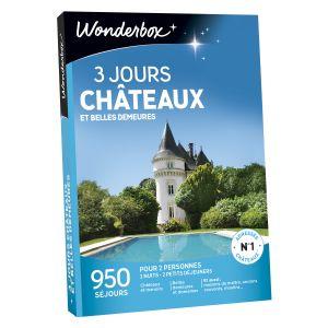 Wonderbox 3 jours châteaux et belles demeures - Coffret cadeau 950 séjours
