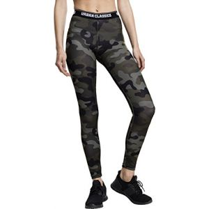 Urban classics Collants Legging sport fitness camo Noir - Taille EU S,EU M,EU L,EU XL,EU XS