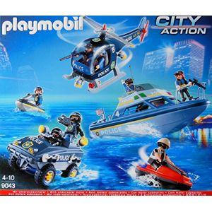 Playmobil 9043 City Action - Véhicules des Forces Spéciales