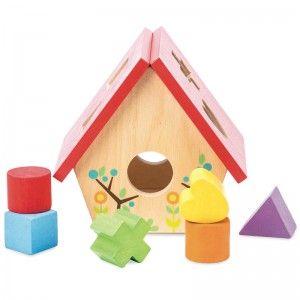 Le Toy Van Mon petit nichoir - boîte à formes