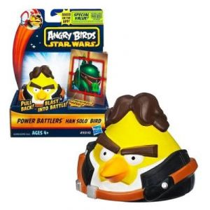 Hasbro Angry Birds Star Wars : Power Battlers : Han Solo Bird