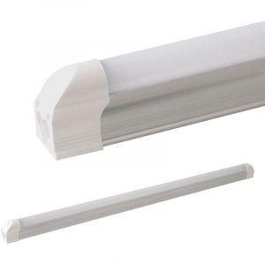 Ledvero Barre lumineuse LED T5LEDVero - 60cm, 90cm, 120cm, 150cm - Couvercle laiteux et transparent - Blanc froid, blanc chaud et blanc neutre - Tube fluorescent, Aluminium Plastique, blanc chaud, 150 cm, T5 25watts