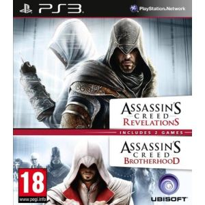 Assassin's Creed Double Pack - Brotherhood + Revelations [PS3]