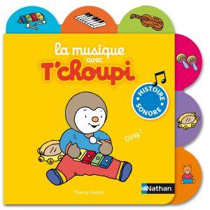 Diset Livre sonore la musique avec T'choupi