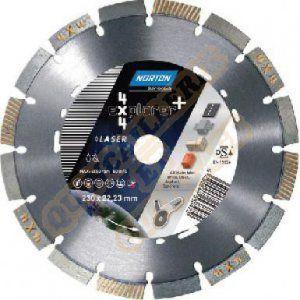 Norton clipper Disque diamant 4*4 EXPLORER + Multi Usage Ø 300 mm Alésage 25.4/ 20 - 70184646870