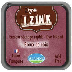 Aladine Encreur Izink Dye - Marron brou de noix