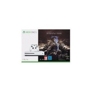 Microsoft Xbox One S 1 To + L'Ombre de la Guerre