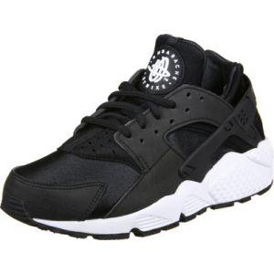 Nike Air Huarache Run, Baskets Femme, Noir (Black-White), 39 EU