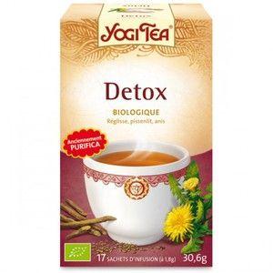 Yogi Tea Detox - Infusion ayurvédique 17 sachets