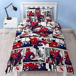 Character World Housse de couette Spiderman Metropolis