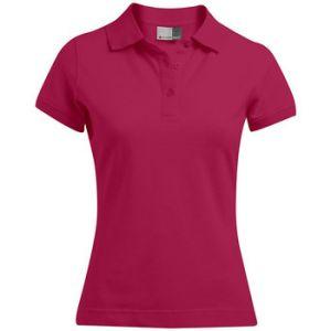 Promodoro Polo 92-8 Femmes, XL, rouge cerise