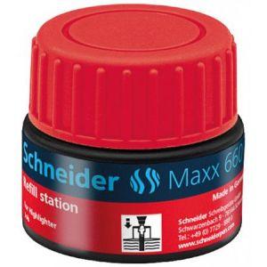 Schneider Electric 166002 - Station de recharge Maxx 660, encre rouge de surligneur