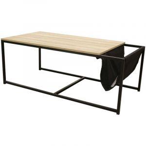 The home deco factory Table basse porte-revue OSWEGO
