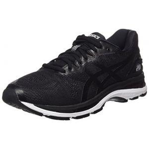 Asics Gel-Nimbus 20, Chaussures de Running Homme, Noir (Black/White/Carbon 9001), 41.5 EU