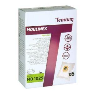 temium mo102s 6 sacs pour aspirateurs moulinex comparer avec. Black Bedroom Furniture Sets. Home Design Ideas