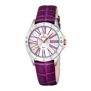 Festina F16929 - Montre pour femme avec bracelet en cuir