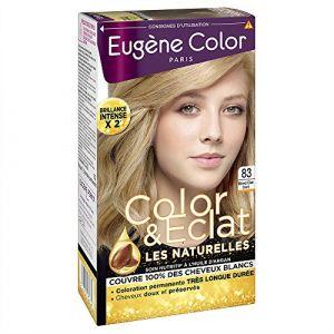 Eugène Color Les naturelles - 83 blond clair doré, crème colorante permanente aux extraits d'olive, soin nutri-protect