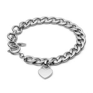 Fossil Bracelet JF03279040 - VINTAGE ICONIC Acier Argenté Femme