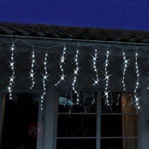 Xmas Living Glass Freja - Rideau lumineux à LED avec stalactites